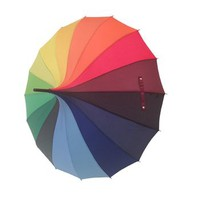 Rainbow Pagoda Style Umbrella
