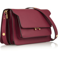 Marni | Trunk leather shoulder bag | NET-A-PORTER.COM