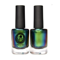 Reminisce - Ultra Chrome Duochrome Nail Polish - Green, Blue