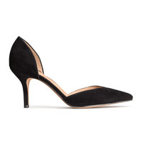 Suede Pumps - from H&M