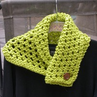 Knit Lace Cowl, Scarf, Neck Piece, Versatile, Choose Color, Custom