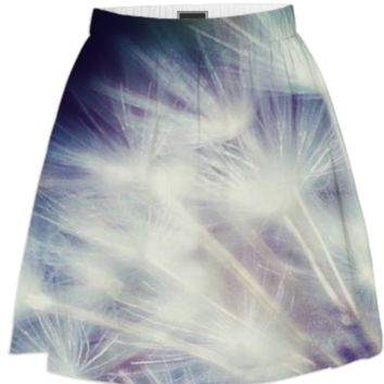 Dandelion Skirt created by duckyb | Print All Over Me