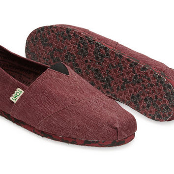 OXBLOOD EARTHWISE MEN'S VEGAN CLASSICS