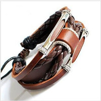 Couple Bracelet Unisex Leather Bracelet Jewelry by braceletcool