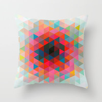 Impossible Containment Throw Pillow by Terran Relic