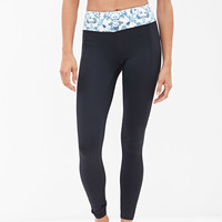 Diamond Printed Performance Leggings