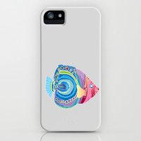 Four Fish iPhone & iPod Case by Catherine Holcombe | Society6