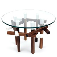 Hexagonal Matchstick Table - A+R Store