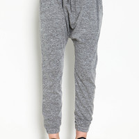 Gradient Drawstring Harem Jogger Sweats