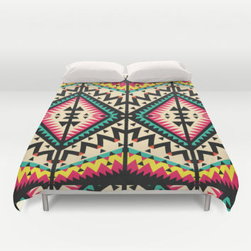 Tribal Duvet Cover by Ornaart