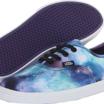 Vans Kids Authentic Lo Pro (Little Kid/Big Kid) (Cosmic Galaxy) Black/True White - Zappos.com Free Shipping BOTH Ways