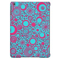 Rounds, Pink-Aqua iPad Air Case