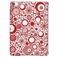 Rounds, Red-White iPad Air Case