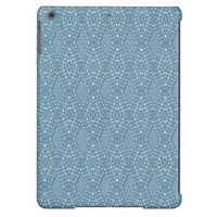 Pave Diamonds Blue iPad Air Case