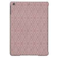 Pave Diamonds Pink Quartz iPad Air Case