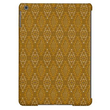 Pave Diamonds Topaz Gold iPad Air Case