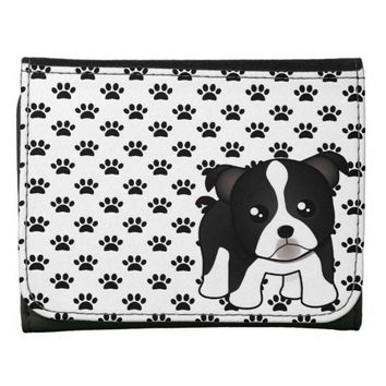 Cute Boston Terrier Puppy Dog Cartoon Animal