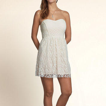 La Jolla Lace Skater Dress