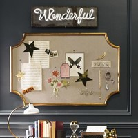 The Emily + Meritt Scallop Statement Pinboard