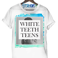 White teeth teens Tee