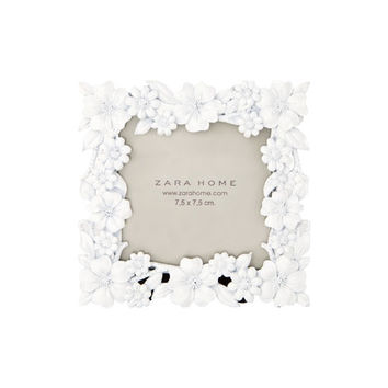 Square Flowers Picture Frame | ZARA HOME United States of America