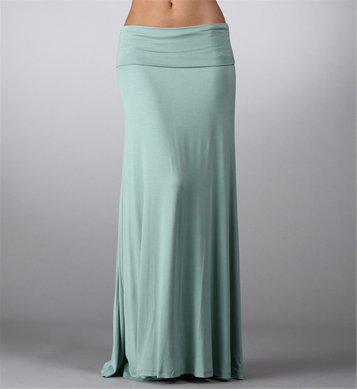 Mint Maxi Skirt