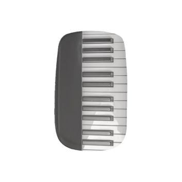 Piano Keyboard Minx Nail Wraps