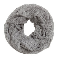 H&M - Pattern-knit Tube Scarf