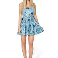 VINTAGE ALICE SCOOP SKATER DRESS