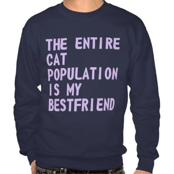 The Entire Cat Population Sweater