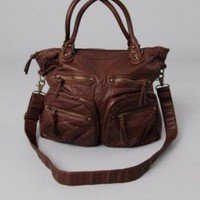 Brown Shoulder Bag - Yetts Shoulder Bag in Brown | UsTrendy