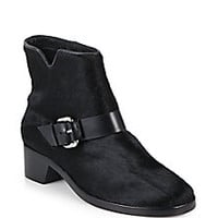 10 Crosby Derek Lam - Charlotte Calf Hair Buckled Ankle Boots - Saks Fifth Avenue Mobile