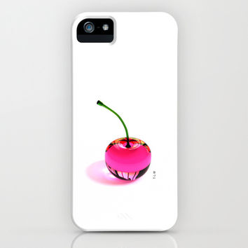 Pink Cherry - iPhone & iPod Case by THE-LEMON-WATCH | Society6