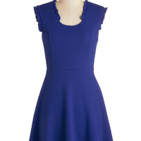 ModCloth Sleeveless A-line Pondside in the Park Dress