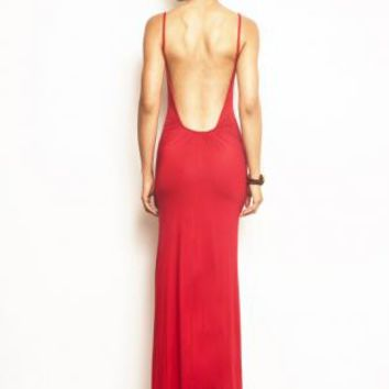 Michelle Backless Maxi Dress - More Colors