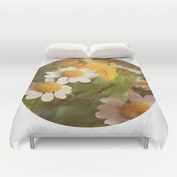 Keep Good Company Duvet Cover by DuckyB (Brandi)