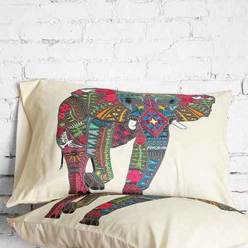 Sharon Turner For DENY Elephant Pillowcase Set - Urban Outfitters