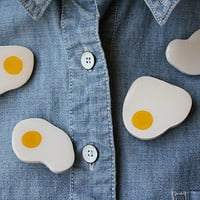 egg brooch