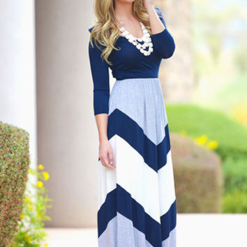 The Best Is Yet To Come Maxi - Navy