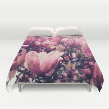 Magnolia Tree Duvet Cover by DuckyB (Brandi)