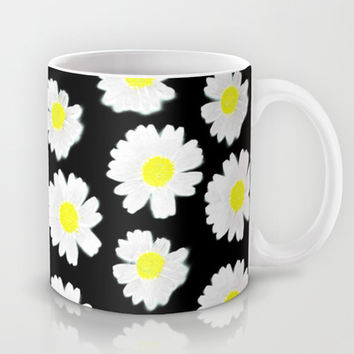 Flowering On Black Mug by Ornaart