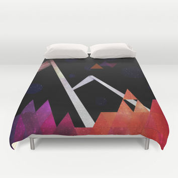 Space Mountain Duvet Cover by DuckyB (Brandi)