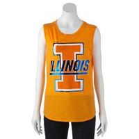 Recycled Karma Illinois Fighting Illini Muscle Tee - Juniors