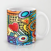 Pretty City Mug by gretzky