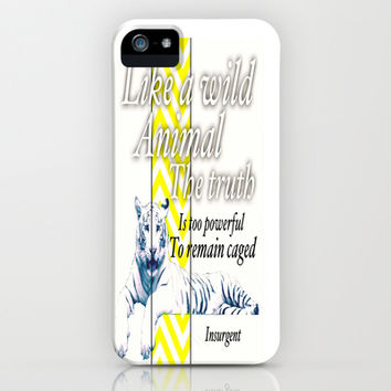 Insurgent iPhone & iPod Case by Laura Santeler