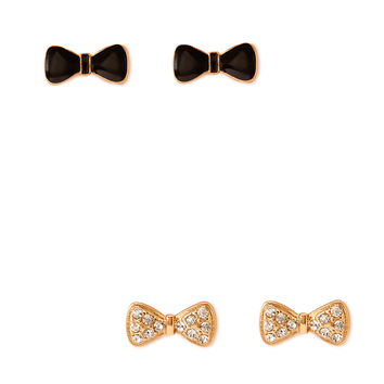 Bow Earring Set