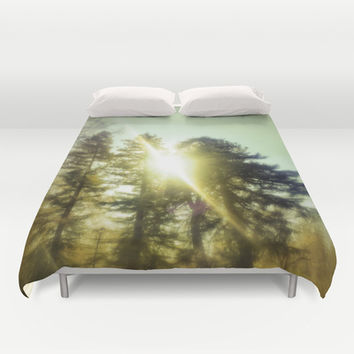 Light Seeker Duvet Cover by DuckyB (Brandi)