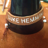 Luke Hemmings 5SOS Leather Bracelet