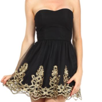the perfect LBD from paper hearts