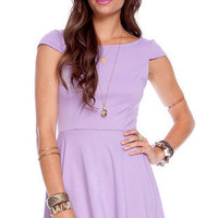 Pretty Penny Dress in Lavender :: tobi